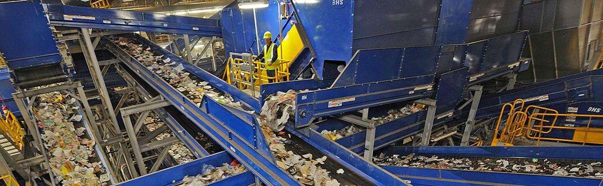 Planta de Valorização de Recicláveis - BHS