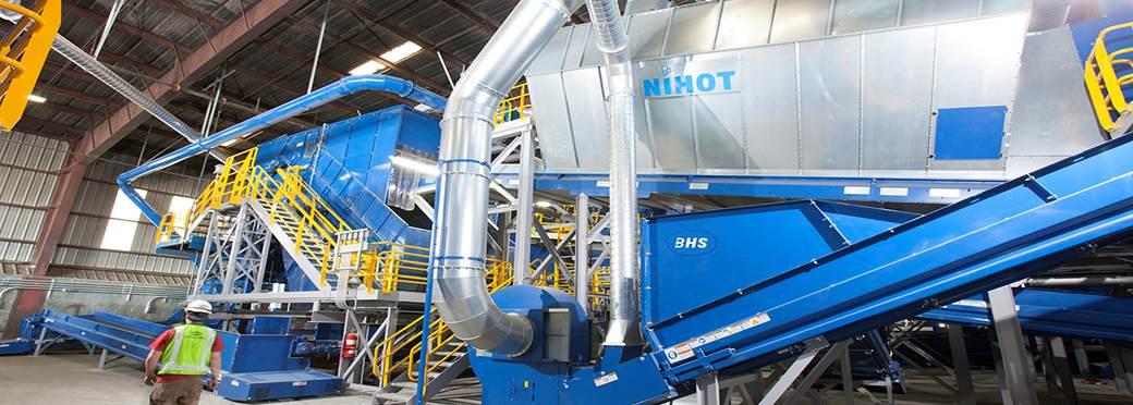 Separadores Pneumáticos Nihot - BHS